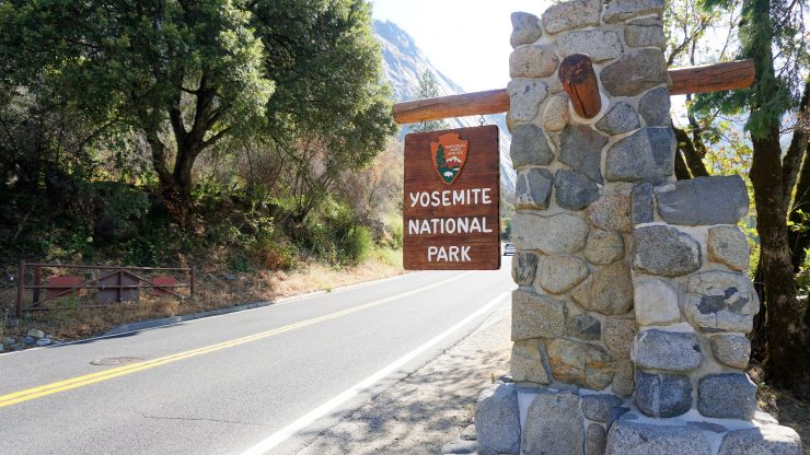 Yosemite National Park Entrance