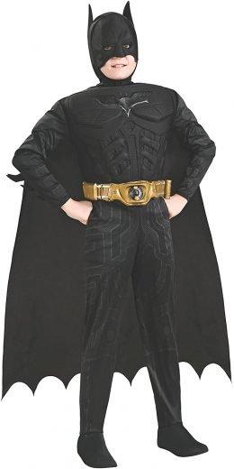 Batman Dark Knight Rises Child's Deluxe Muscle Chest Batman Costume 万圣节装扮