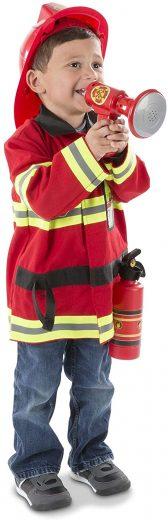 Melissa & Doug Fire Chief Role Play Costume Set (万圣节装扮)