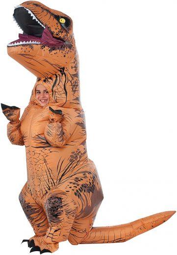 Rubies Child's The Original Inflatable Dinosaur Costume (万圣节装扮)