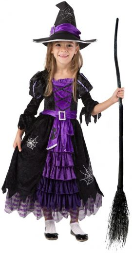 Spooktacular Creations Fairytale Witch Cute Witch Costume 万圣节Costume_