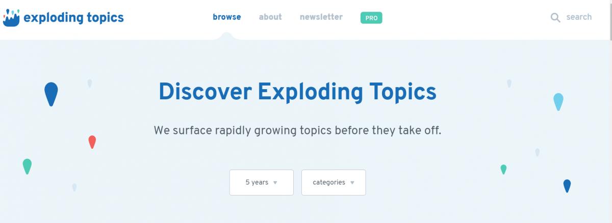 Exploding Topics