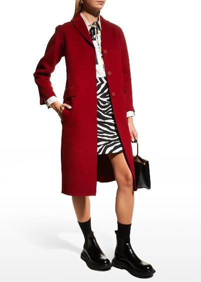 Max Mara Beauty Wool Topcoat