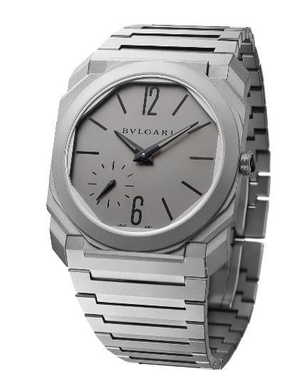 BVLGARI Octo Automatic Titanium Watch